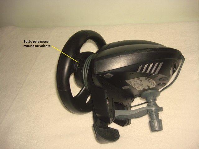 Volante jogos Microsoft SideWinder Force Feedback Wheel - R$350,00/unidade - 3 unidades - Foto 6