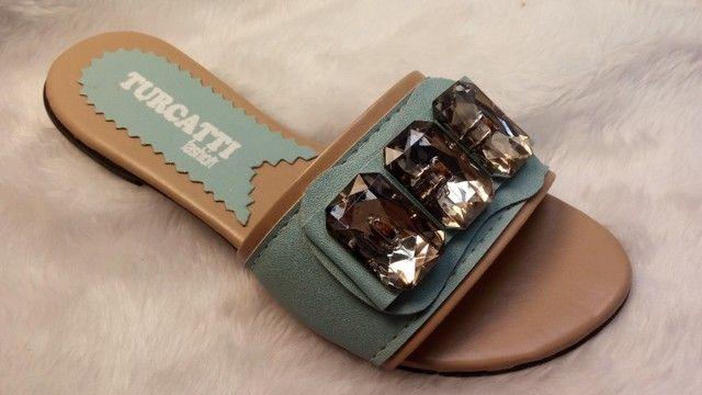 kits 12 pares de rasteirinhas sandalia atacado revenda e sacoleiras  - Foto 2