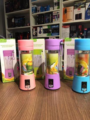 Mini Liquidificador Portátil Shake Juice Cup + Cabo Usb - Foto 2