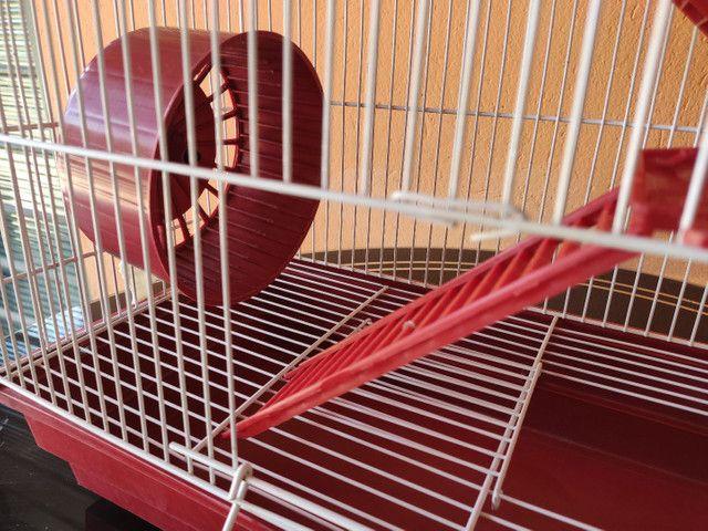 Gaiola para hamster dois andares  - Foto 2