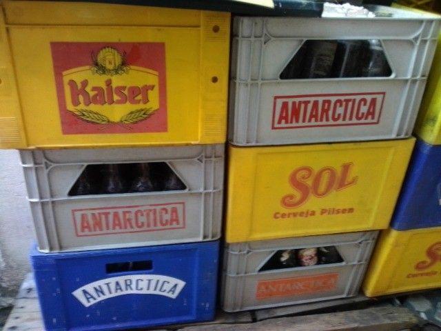 Engradado caixas de cerveja 600 ml