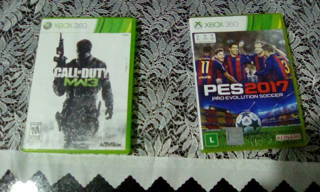 Call of Duty 3 + Pes 2017 Xbox 360 originais