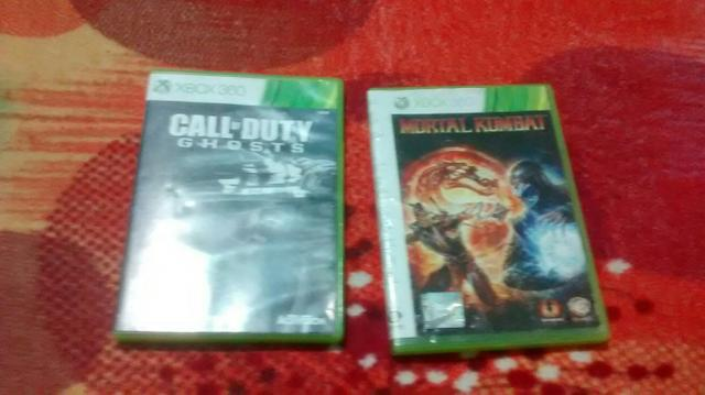 Vendo call of duty e mortal Kombat para xbox360