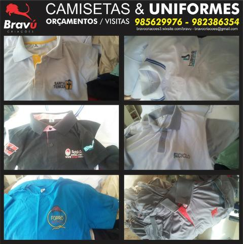 e75ab93dba Uniformes e camisetas personalizadas - Serviços - St Belo Horizonte ...