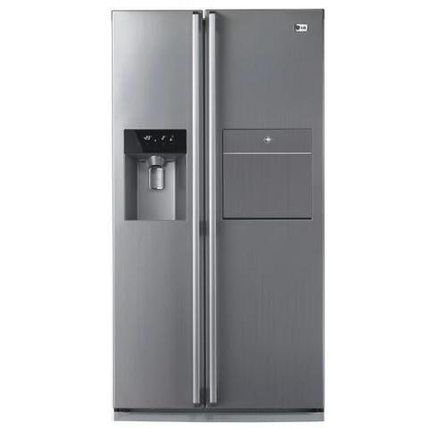 Refrigerador Side By Side Lg Inox Com Home Bar Ice Perfeita