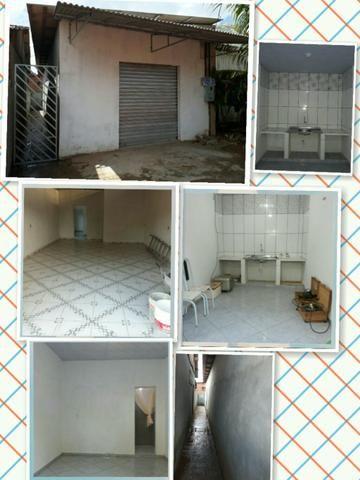 Vendo casa recém construída com ponto comercial em Santana