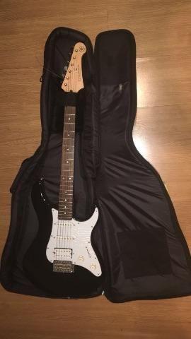 Guitarra Yamaha Pacífica 012 com capa rockbag urgente!