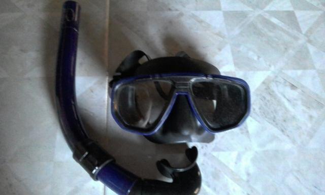 Máscara de mergulho