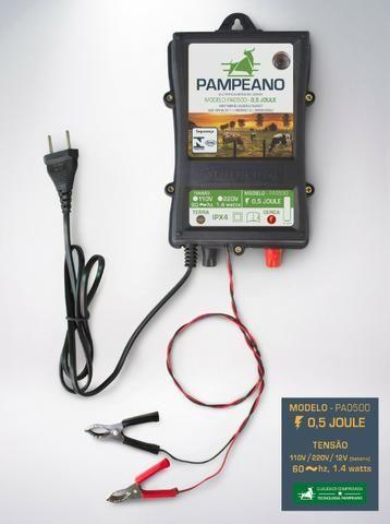 Eletrificador Cerca Elétrica Rural 60km12v Pampeano a bateria