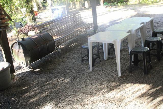 Aluguel Temporada casa Itapoá SC* Sobrado 4 quartos 2 banheiro mobiliada - Foto 8