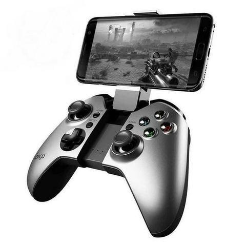 Controle para celular ipega fighter pg-9062s - prata
