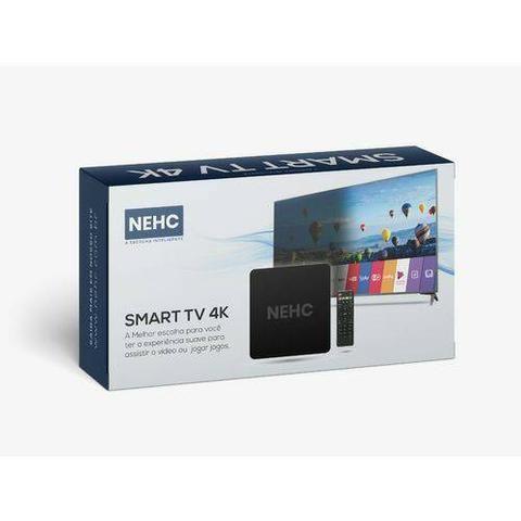 Smart TV Box 4K da NEHC