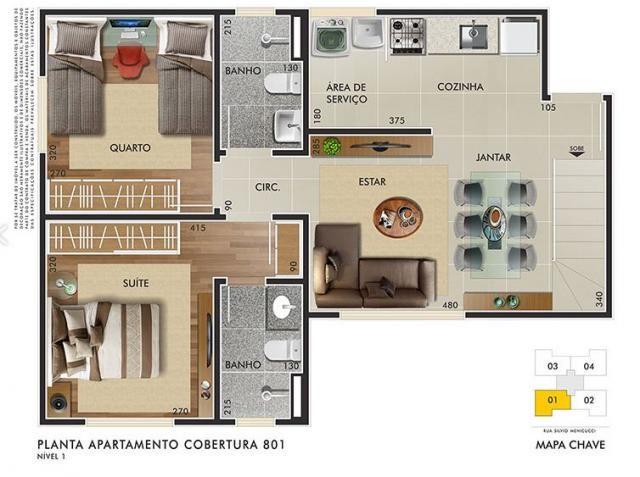 Apartamento à venda com 2 dormitórios em Buritis, Belo horizonte cod:2245 - Foto 4