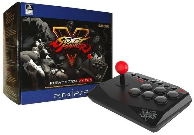 Controle arcade mad catz street fighter v alpha ps3