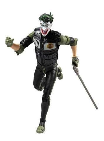 Boneco The Joker White Knight Dc Comics Multiverse Mcfarlane - Foto 4