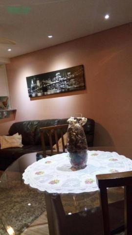Apartamento com 2 dormitórios à venda, 50 m² por R$ 250.000 - Parque Maria Helena - Guarul - Foto 4