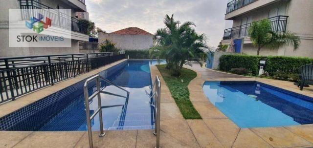 Apartamento com 3 dormitórios à venda, 83 m² por R$ 605.000 - Jardim Flor da Montanha - Gu - Foto 4