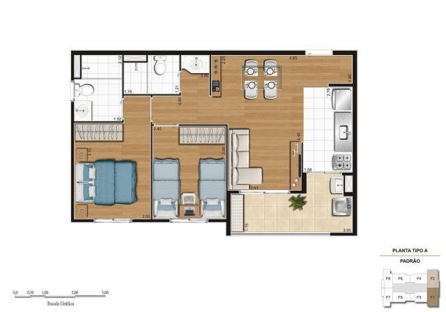 Apartamento em Vila Galvão, com 2 quartos, sendo 1 suíte e área útil de 55 m² - Foto 15