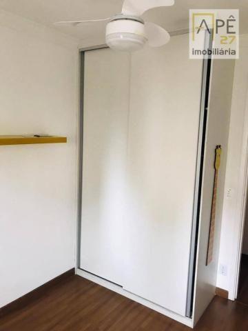 Apartamento 100% mobiliado com 2 dormitórios para alugar, 47 m² por R$ 1.850/mês - Ponte G - Foto 10