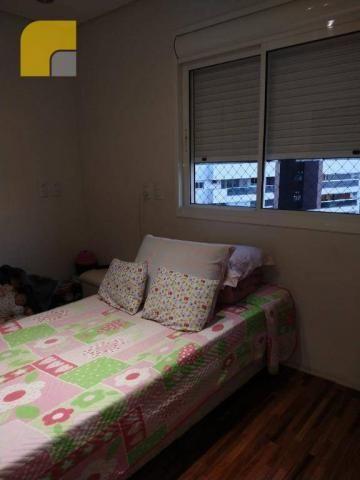 Apartamento amplo com 3 suítes e 3 vagas à venda, 182 m² por R$ 1.300.000 - Vila Rosália - - Foto 8