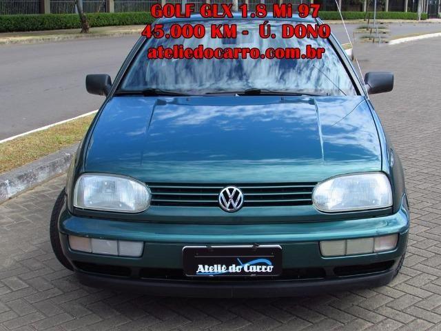 Golf GL 1.8 Mi 1997 45.000 km Originais - Único Dono - Ateliê do Carro - Foto 3
