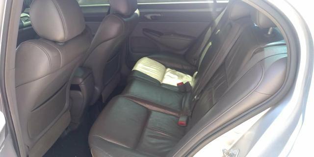 Honda Civic automático 2008 aceita financiamento - Foto 4