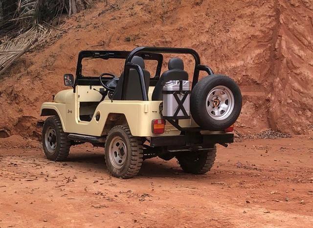 Jeep bege 1966