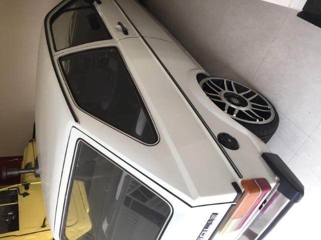 Gol Bx 1982 com rodas aro 17, suspensao fixa legalizada - Foto 3