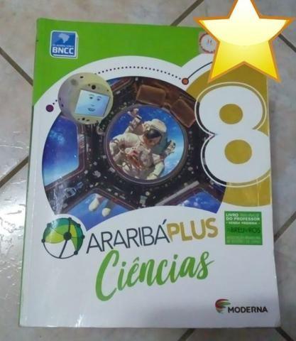 Livro - Araribá Plus Ciências 8º ano - Em ótimo estado