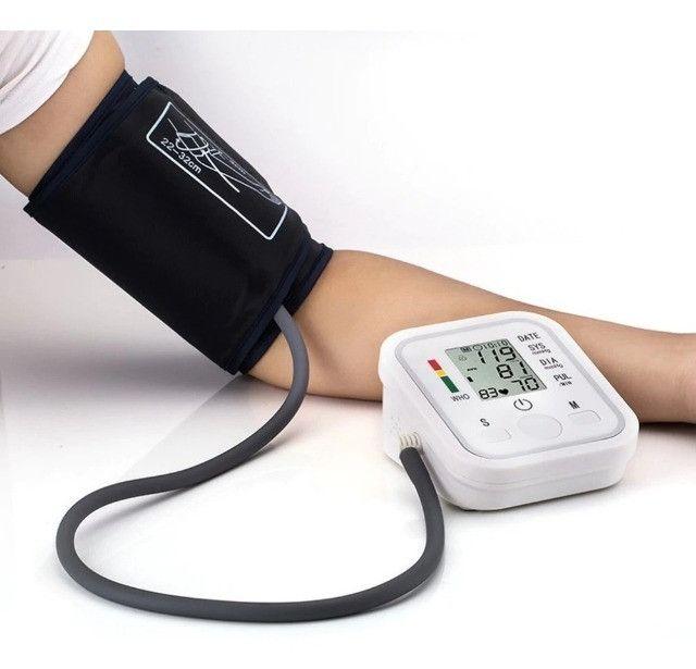 Medidor De Pressão Arterial Digital Aparelho Automático Novo - Loja Natan Abreu