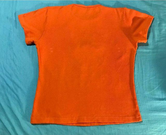 Blusa De Malha Feminina Com estampa de menina com cabelo de lã - Foto 2