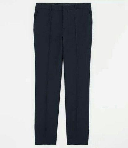 Calça social preta (tamanho 50 e 52)