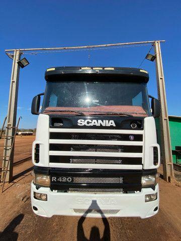 Scania 124 R420 6x2