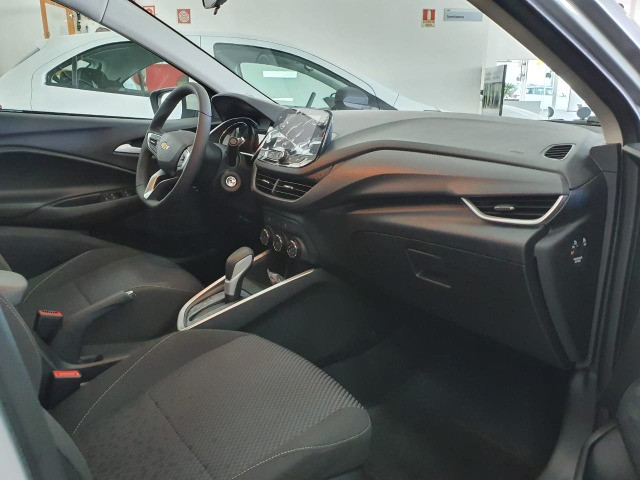 Chevrolet 1.0 Turbo LT Hatch Automatico - 2021/21 - Foto 12
