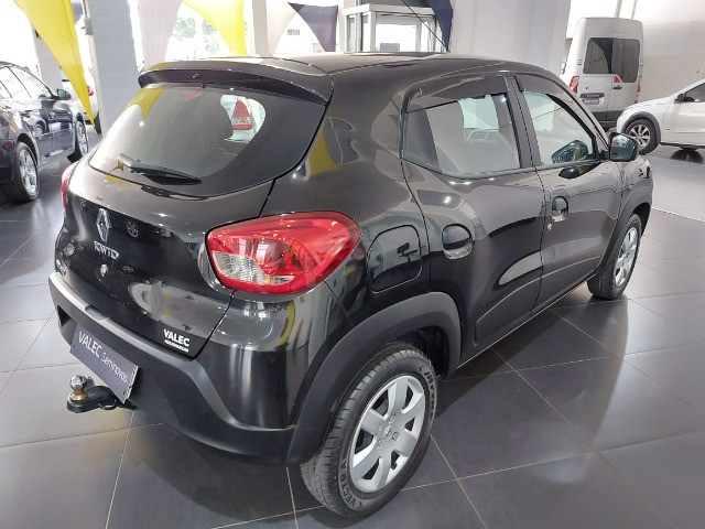 Renault Kwid Zen 2018 preto - Foto 6