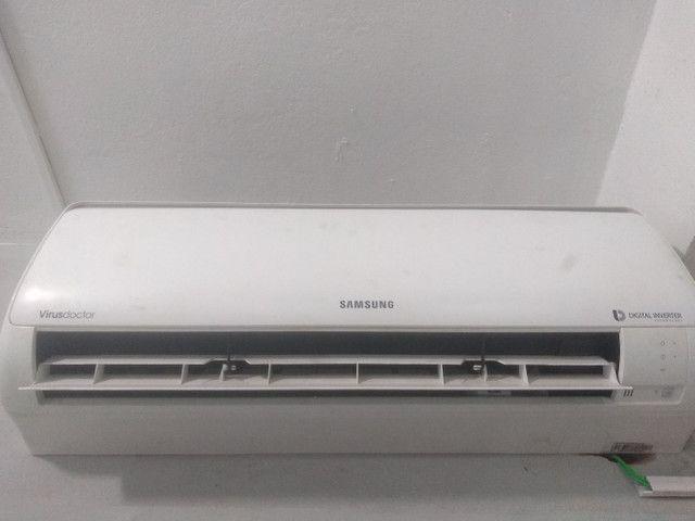 Ar condicionado Samsung inverter 12000 BTUs 220v R$ 1.300