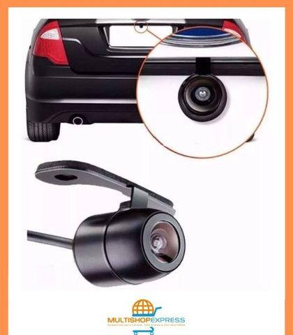 Camera De Ré Visão Noturna Borboleta Colorida Automotiva - Foto 3