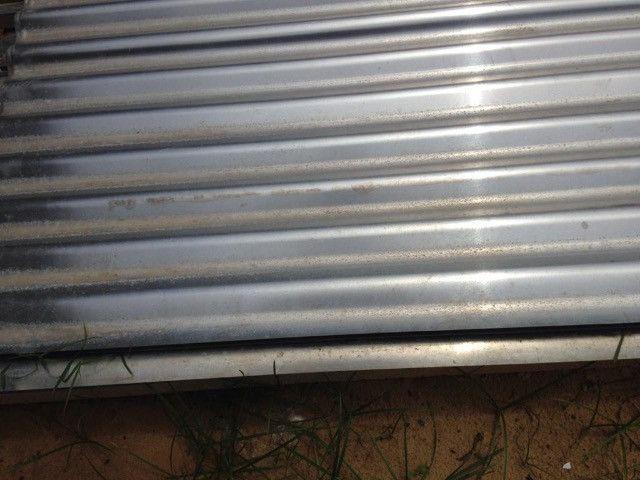 Telhas em alumínio