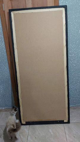 Espelho de Parede ou Chão com Borda em Courino - Foto 3