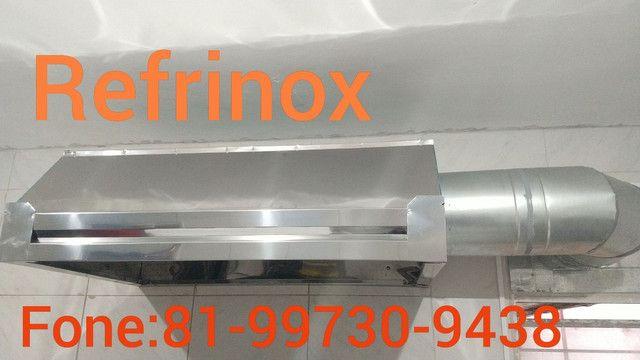 Mesa em inox coifa em inox Exaustor - Foto 6
