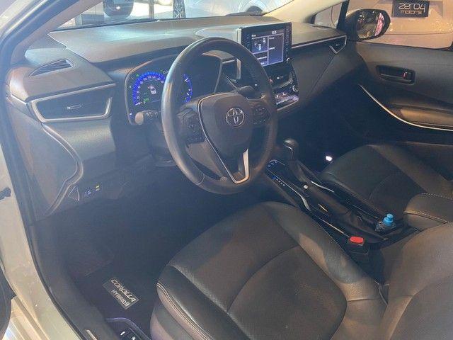 Toyota Corolla Altis 1.8 Hybrid 2020,Configuração Linda,Impecável  - Foto 7