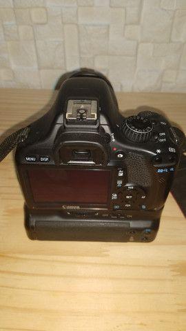 Câmera Profissional Canon EOS Rebel T2i - Usada - Foto 5