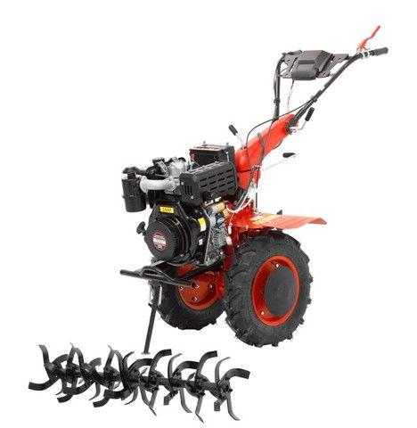 Micro Trator Motocultivador 10hp 406cc Diesel Partida Elétrica com Enxada Rotativa