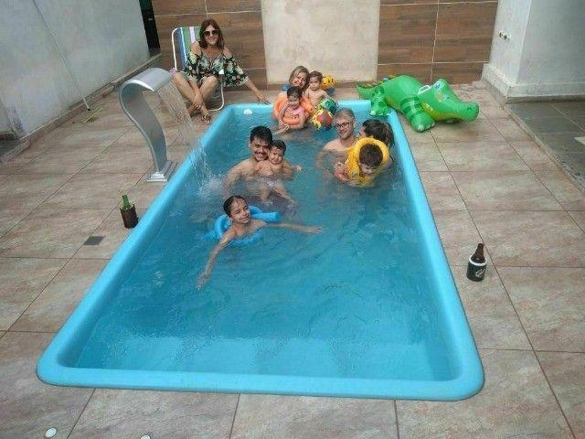 piscina de fibra vários tamanhos - Foto 5