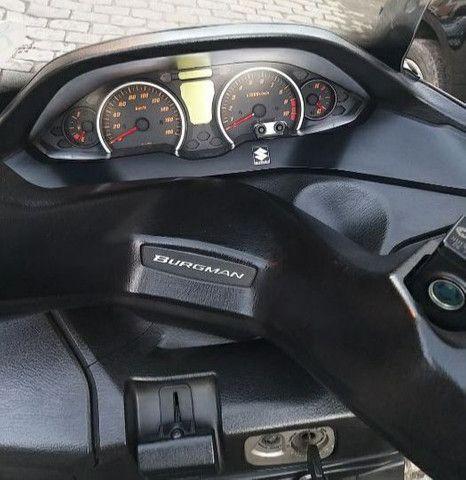 Burgman 400 2016  Manual-Chave Reserva Super Nova! - Foto 3