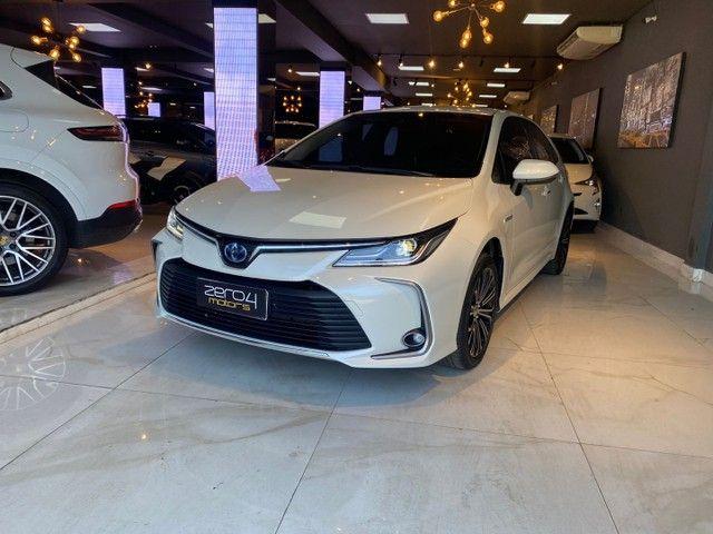 Toyota Corolla Altis 1.8 Hybrid 2020,Configuração Linda,Impecável  - Foto 2