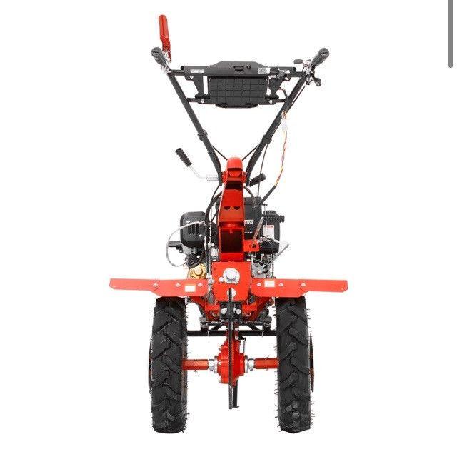 Micro Trator Motocultivador 10hp 406cc Diesel Partida Elétrica com Enxada Rotativa  - Foto 6