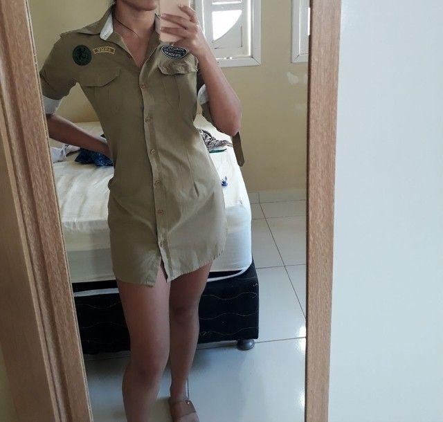 Vestido estilo camisa social  - Foto 2