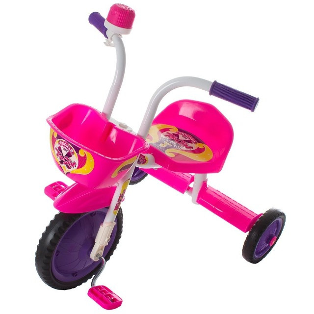 Triciclo Infantil Rosa - Foto 2