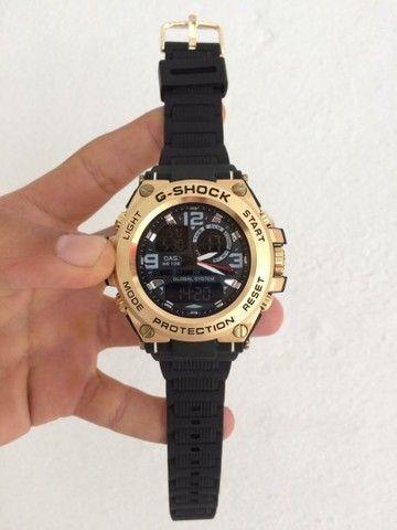 Relógio G-Shock Caixa de aço A prova d'água.  - Foto 4